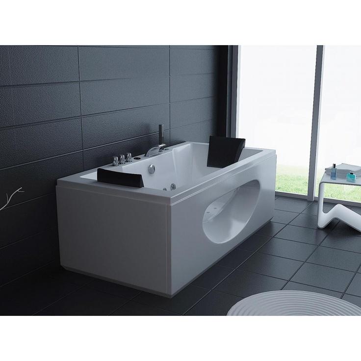 27 best banheiras de hidromassagem images on pinterest hot tubs bathrooms and homes. Black Bedroom Furniture Sets. Home Design Ideas
