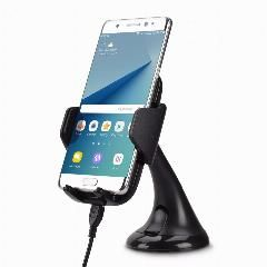 [ 23% OFF ] Universal Qi Wireless Charger Dock For Galaxy S6 / S6 Edge/ S7 / S7 Edge/ Note 5 / S6 Edge Plus Car Console Windshield Holder