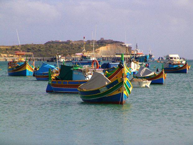 Fenickie oczy nadal wypatrują mielizn i przynoszą szczęście maltańskim rybakom