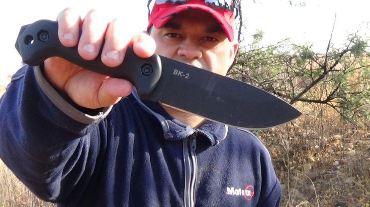 Ka-Bar Becker BK2 Campanion Fixed Blade Knife (5.5 inches) Review by  Su...