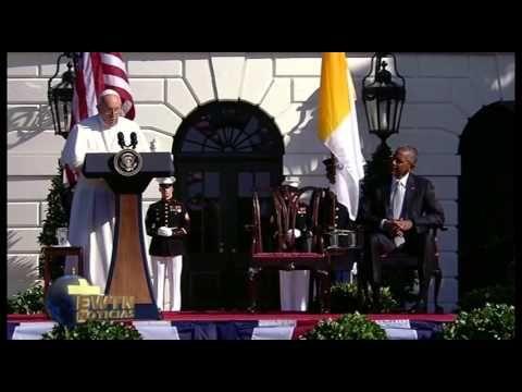El discurso completo del Papa Francisco pronunció en la ceremonia de bienvenida en la Casa Blanca. Más información en: https://www.aciprensa.com/noticias/vis...
