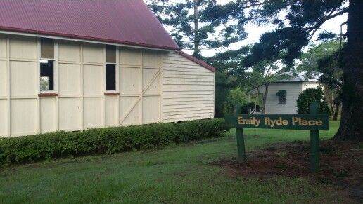 Emily Hyde place..near chapell at old Petrie town .