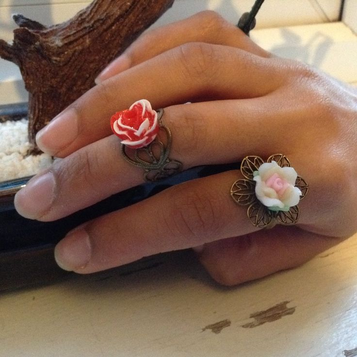 A personal favourite from my Etsy shop https://www.etsy.com/uk/listing/248738510/rose-filigree-pair-of-rings