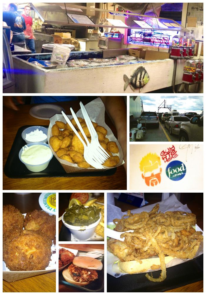 Singleton's Seafood Shack - outside Jacksonville, FL - a true Diners, Drive-ins and Dives place!