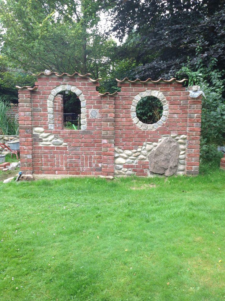 57 best Garten Mauerruinen images on Pinterest Gardens, Balcony - gartenideen wall