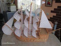 Поделка изделие Плетение Что нам стоит флот построить??? Бумага газетная фото 6