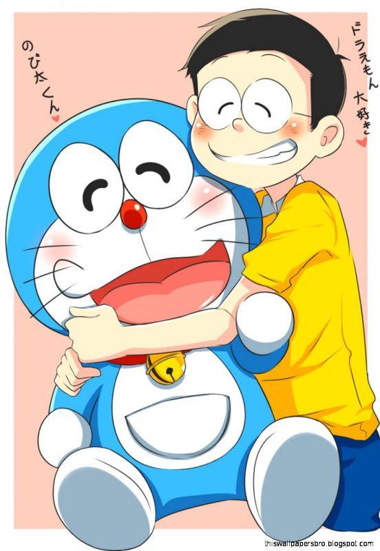 Doraemonde and nobita....