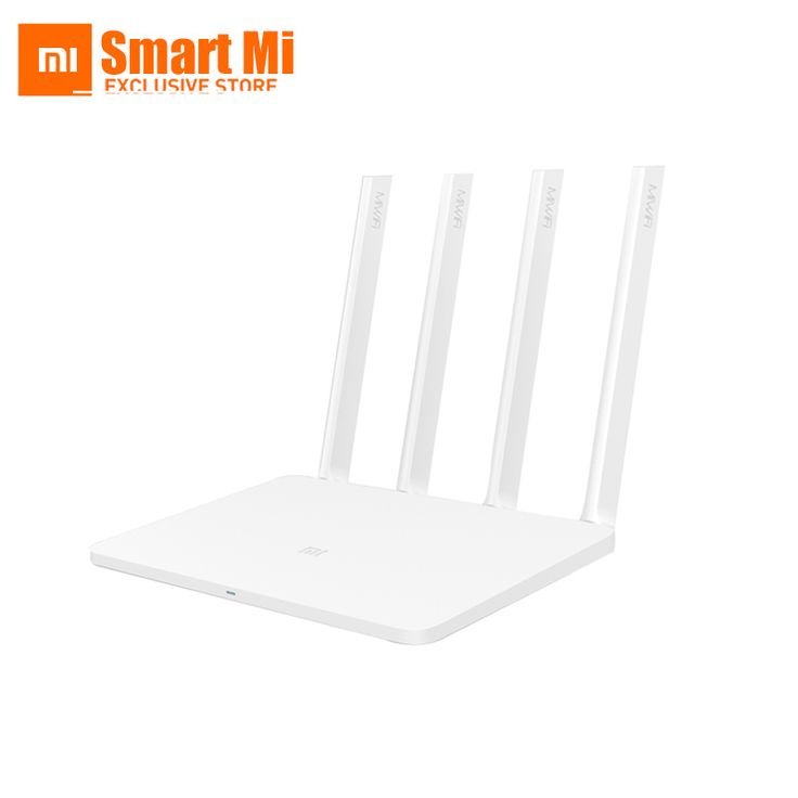 Original XiaoMi Router 3 Mi WIFI ROM 128MB  2.4G/5.0GHz 1167Mbps 4 Antenna Dual Band USB Port  English Version APP Control