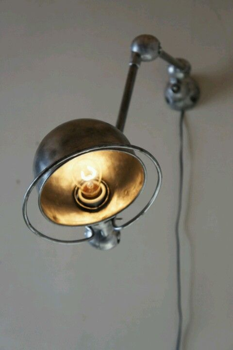 wall mounted Jielde light. Made in France. Find similar ones on Only/Once – www.onlyonceshop.com