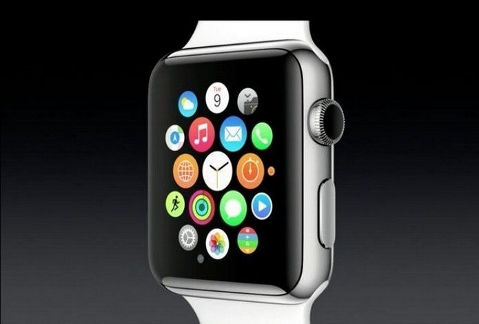 Apple Watch, novo relógio inteligente da Apple, vem com tela de safira (Mais resistente que as telas comuns, semelhante ao Diamante, dez vezes mais resistente que o aço inoxidável).  #Apple #iwatch.