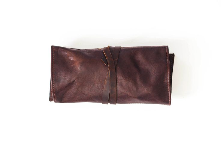 Walter Crow | Leather Utility Roll | Walter Crow