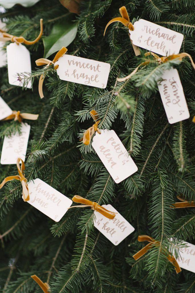 Christmas Tree Farm Styled Shoot Tree Wedding Ceremony Winter Wedding Colors Winter Wedding Stationery