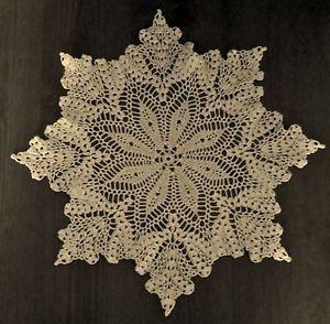 Thread Crochet Doily Patterns   Crochet Thread Free Edging Pattern Crocheted Doily Patterns Pictures