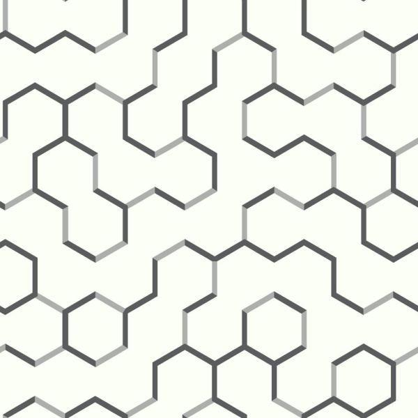 Roommates Open Geometric Vinyl Peelable Wallpaper Covers 28 18 Sq Ft Rmk9091wp The Home Depot Peel And Stick Wallpaper Peel And Stick Vinyl Vinyl Wallpaper