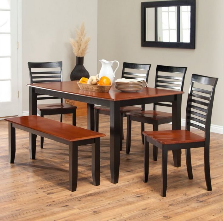 17 Best Images About Large Dining Tables On Pinterest: 17 Best Ideas About Dining Table With Bench On Pinterest