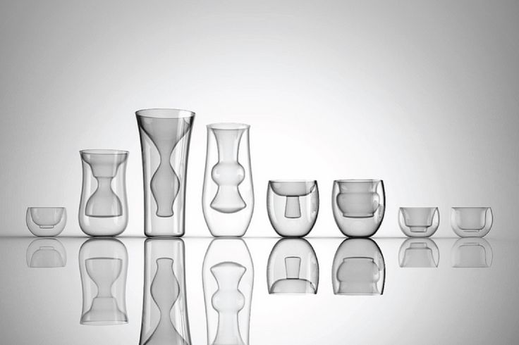 The series conceptual bases begins with the traditional forms of Chinese vases and bowls which are then given a modern, contemporary look via their double walled, hand-blown construction.By constructing the pieces from transparent borosilicate glass, the works display the color of the liquid in. – [ InTea teaset – 3 pcs ] 3 pcs of …