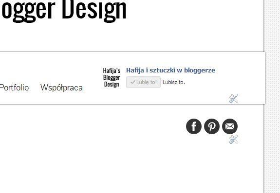 Jak dodać ruchome ikonki społecznościowe blogger blogspot