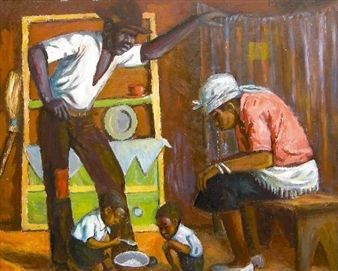Unemployed By George Pemba ,1986