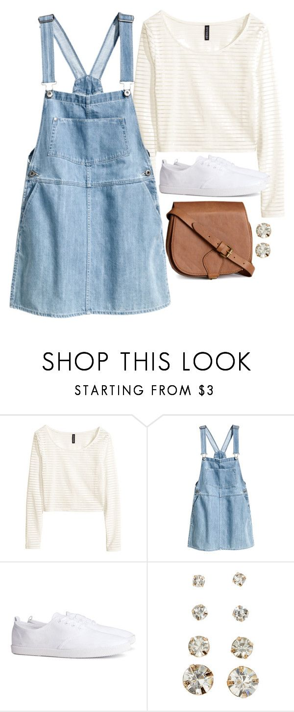 """Allison Inspired Bus Ride Outfit (specific stores)"" by veterization ❤ liked on Polyvore featuring H&M"