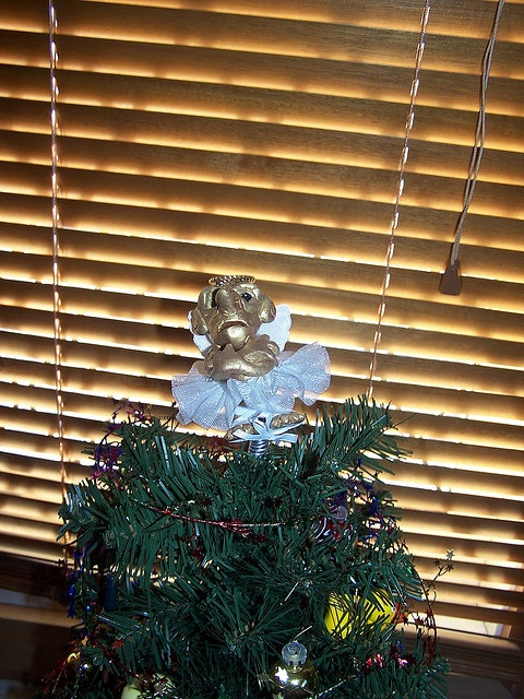 Garden Gnome Tree Topper.  I need to figure out how to make this.  I have wanted to ever since the book
