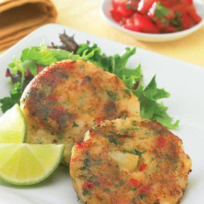 Chilli Potato Cakes Recipe: Cook Vegetarian Magazine