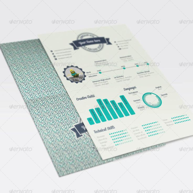 30 best creative infographic resume templates images on