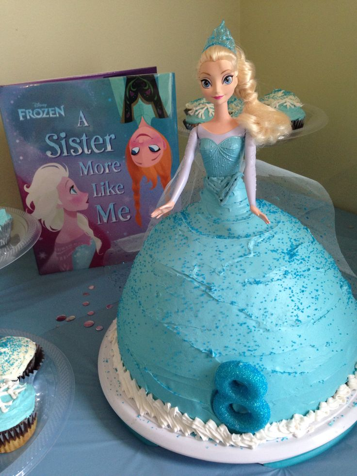 Elsa doll cake for a Frozen birthday party Birthdays ...