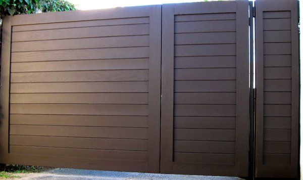 Driveway Gate - w/ 3 ft gate | Yelp
