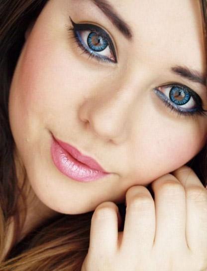 lentes de contacto de color efecto lentes lentillas color