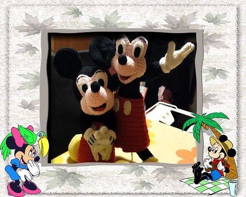 amigurumi mickey mouse miki fare yapimi