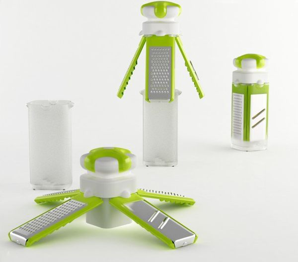 Satellite Grater by Hakan Gürsu » Yanko Design. Brilliant modern grater design.
