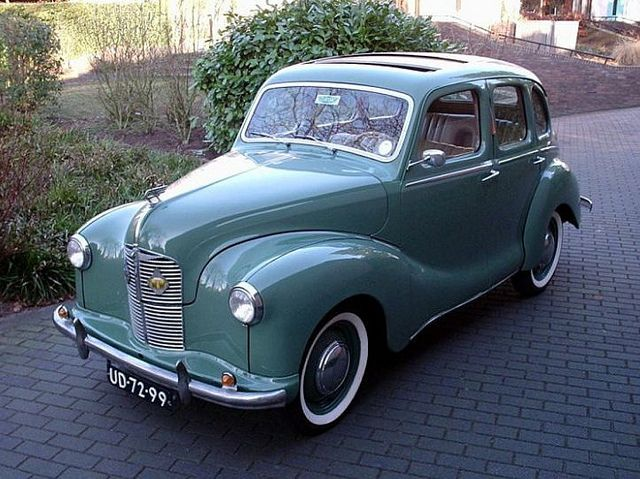 1948 Austin A40. Maintenance/restoration of old/vintage vehicles: the material for new cogs/casters/gears/pads could be cast polyamide which I (Cast polyamide) can produce. My contact: tatjana.alic@windowslive.com