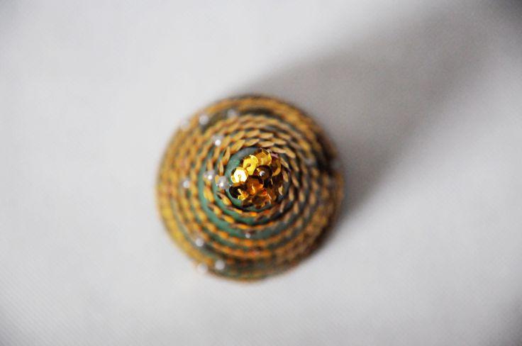 Choinka stożkowa. Zapraszam na mojego bloga: diybymarika.blogspot.com  Zapraszam na mojego funpage'a: Rękodzieło MariKi
