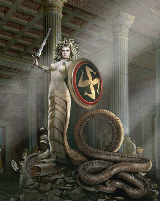 266 best Medusa images on Pinterest | Greek mythology ...