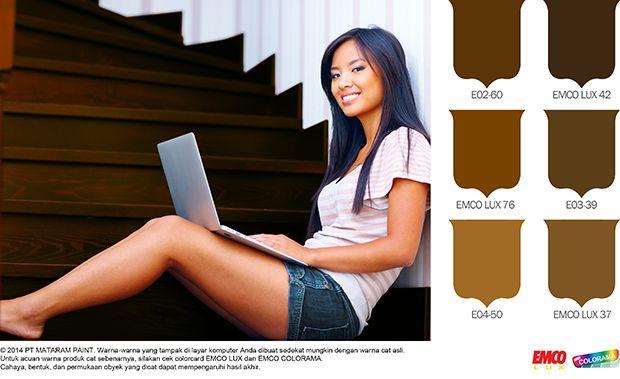 Tangga Kayu Buat Hunian Mempesona #Future #Color http://matarampaint.com/detailNews.php?n=236