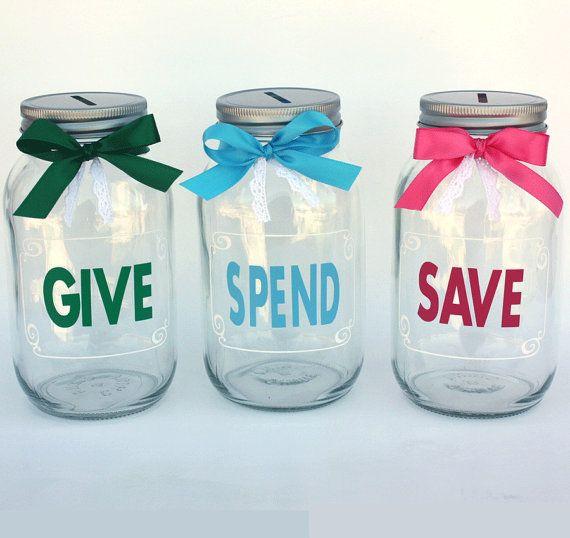 17 best ideas about mason jar bank on pinterest piggy for Mason jar piggy bank