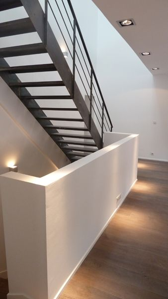 1000 id es sur le th me escalier m tallique sur pinterest for Design escalier interieur