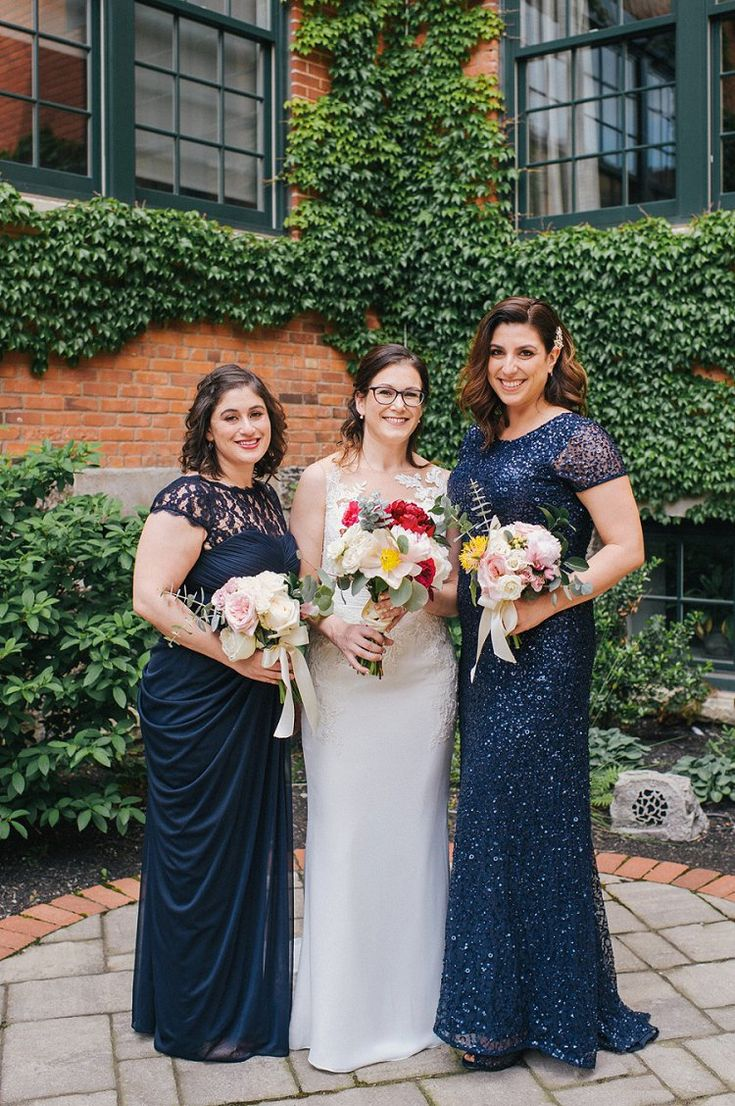 112 best blue navy bridesmaid dresses images on pinterest a pronovias bride for a family oriented jewish wedding at the foundry in buffalo ombrellifo Choice Image