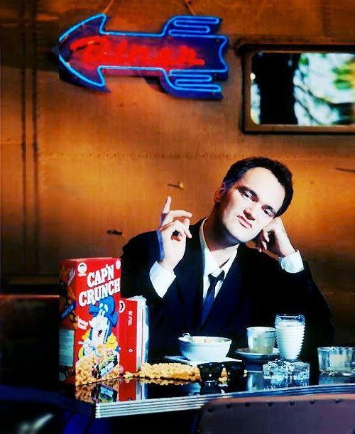 Tarantino es un Dios.: Tarantino Quentintarantino, 90S Ctrlcomicsaltmovi, Art 90S, Quentin Tarantino Film, Belly Button, Movies, Cereal Bowls, Film Director, Quentintarantino Pulpfict