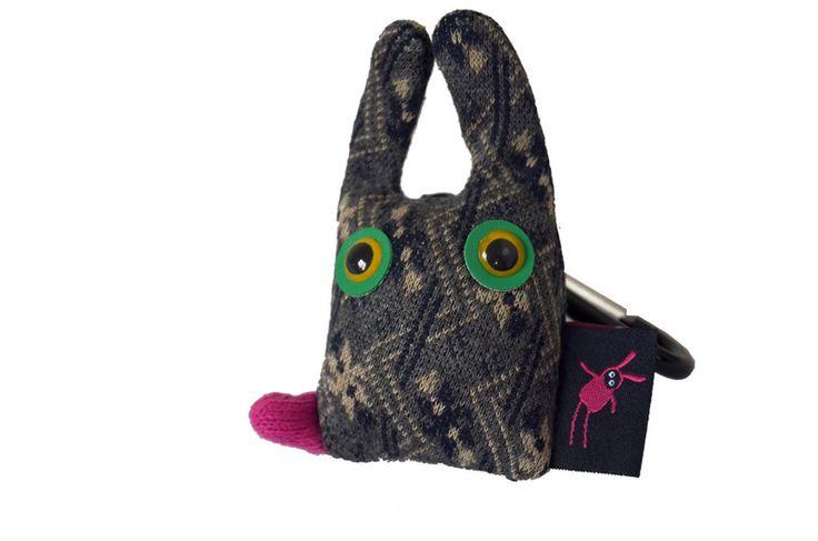 kitty grey hare from KIZIU MIZIU monsters & toys & accessories by DaWanda.com