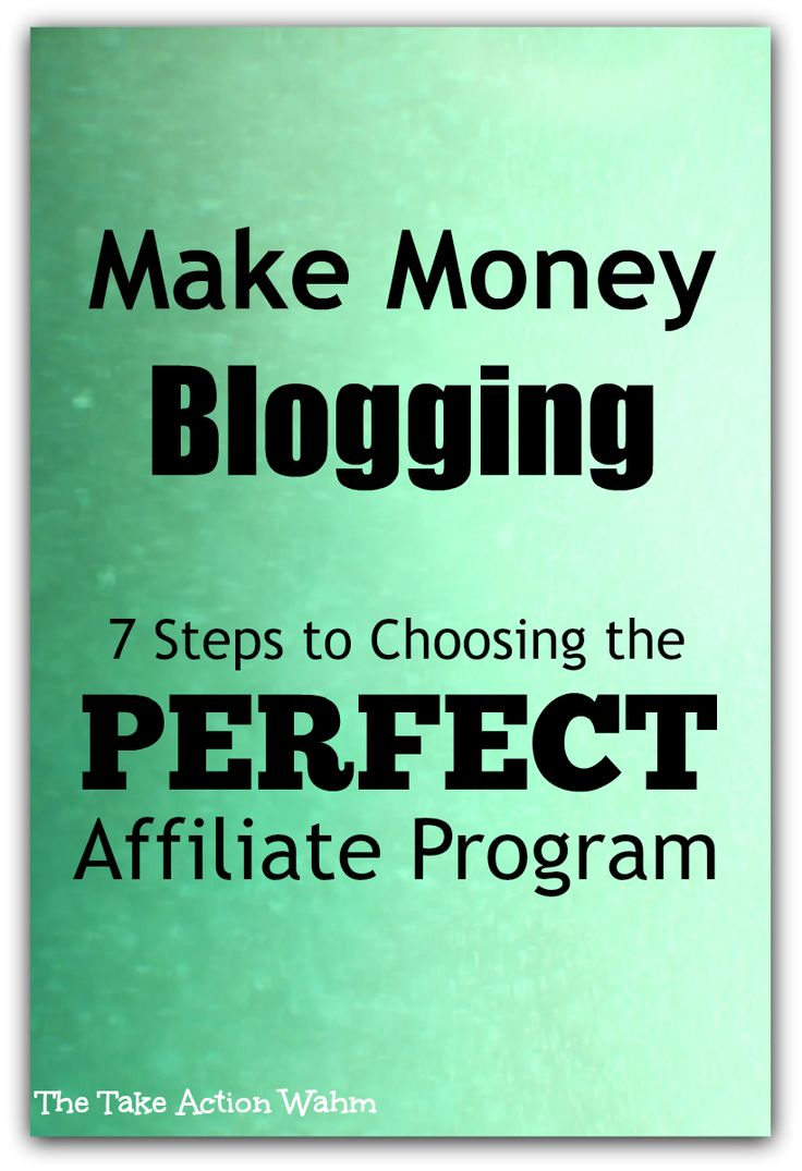 99 best blogging images on pinterest blogging blogger tips and 7 steps to finding the perfect affiliate program fandeluxe Images