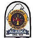 Fairbanks Fire Department Patch