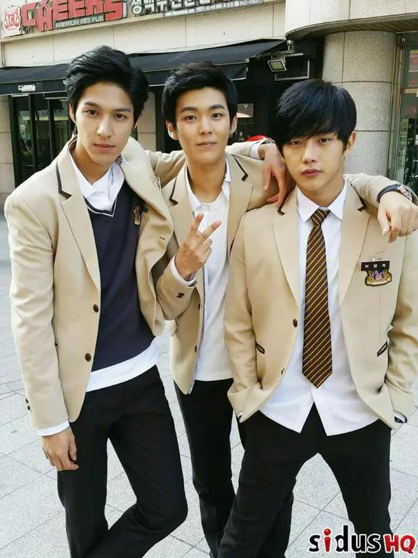 the bad boys from High School Love On (well kinda lol)