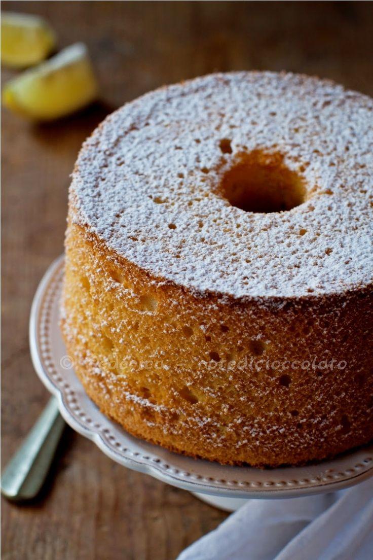 Note di cioccolato: Lemon chiffon cake...e al diavolo la sveglia!