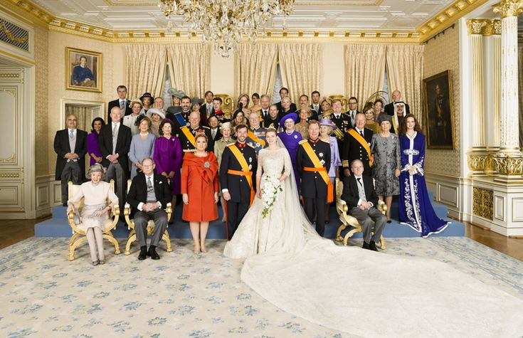 Stunning official photos of the Luxembourg royal couple and their wedding guests