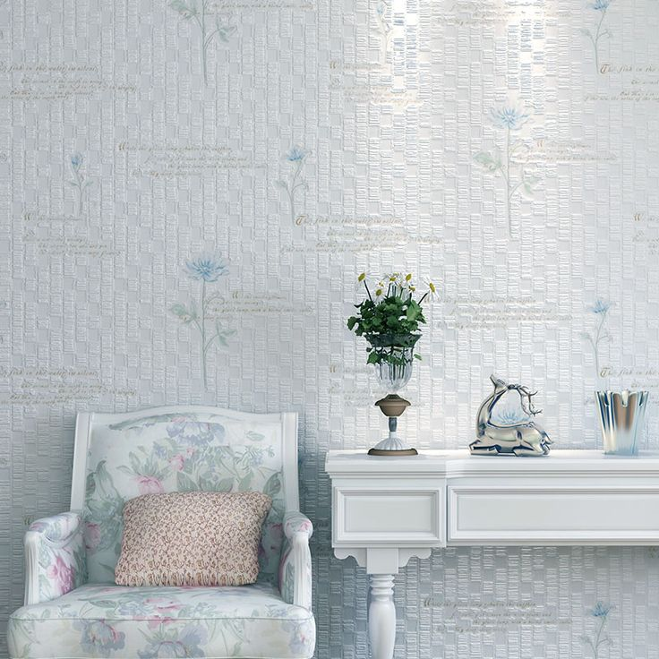 2014new Non Woven Wallpaper Bedroom Three Dimensional Flower Garden Flowers  Living Room Sofa Background ...