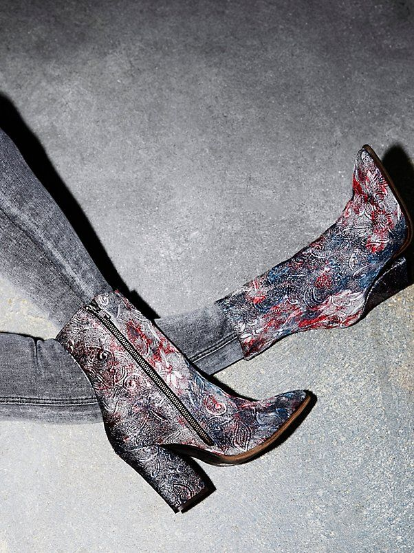 Mystic Charms Heeled Boot