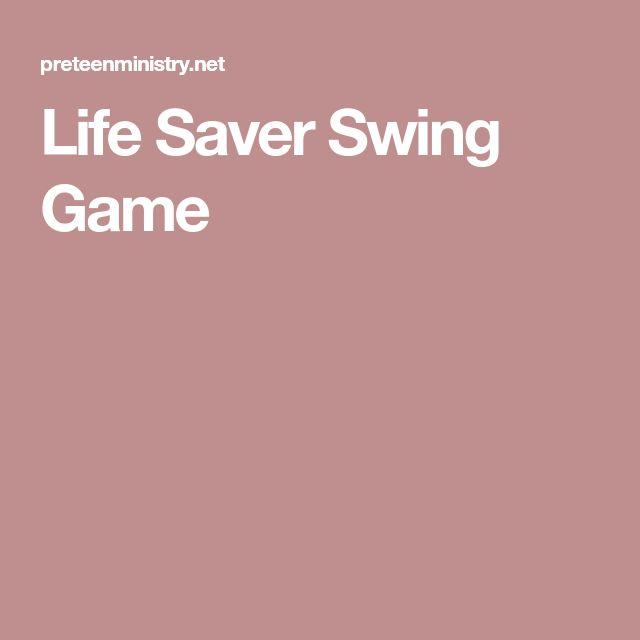Life Saver Swing Game