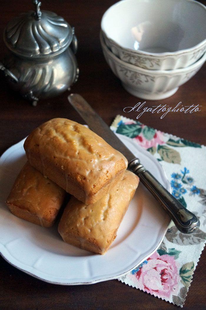 il gattoghiotto: Tortine al burro di arachidi con glassa allo sciroppo d'acero