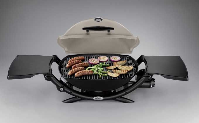 Get cooking with a Weber 54060001 Q 2200 Liquid Propane Grill | Foodal.com